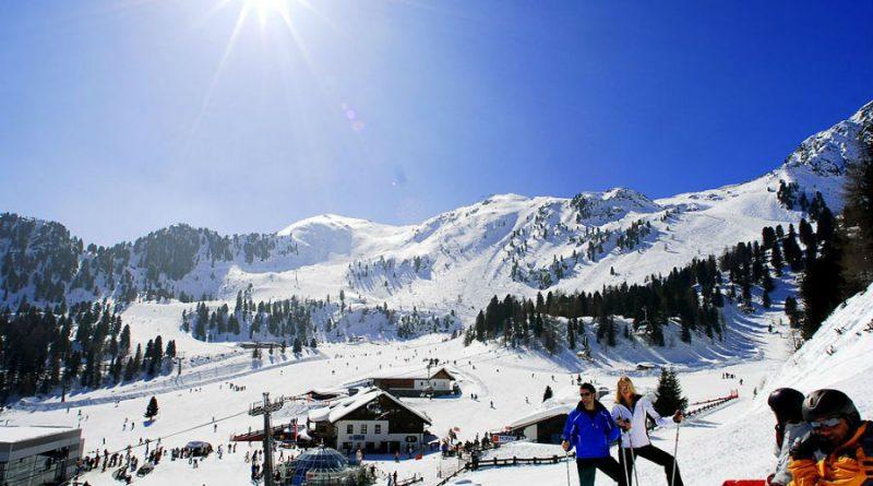 Austria Alps sky center