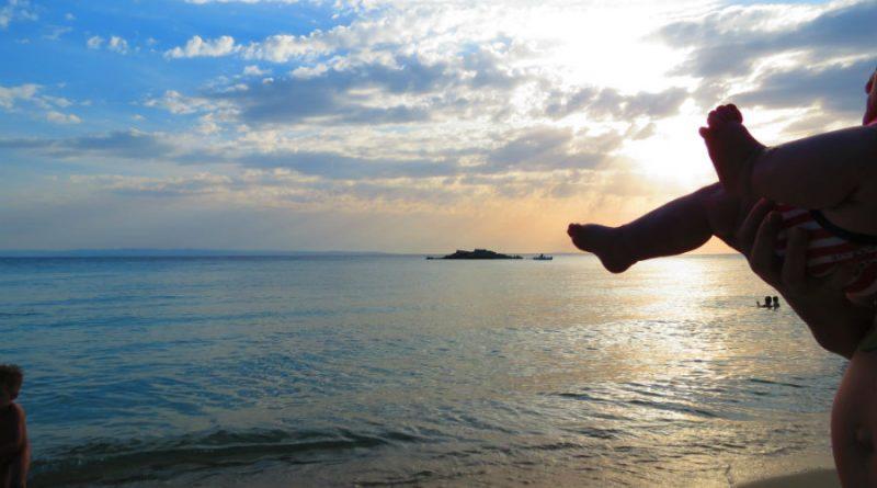 Greece Sithonia Kalogria beach island