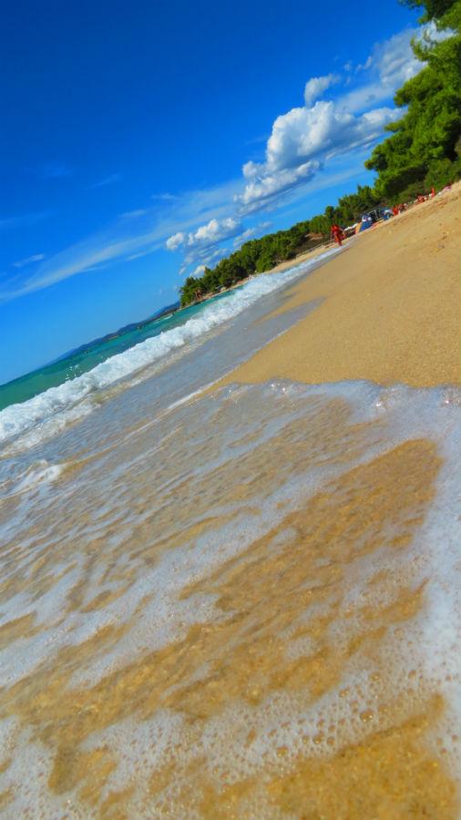 Greece Sithonia Kalogria beach
