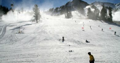 Mountain ski area