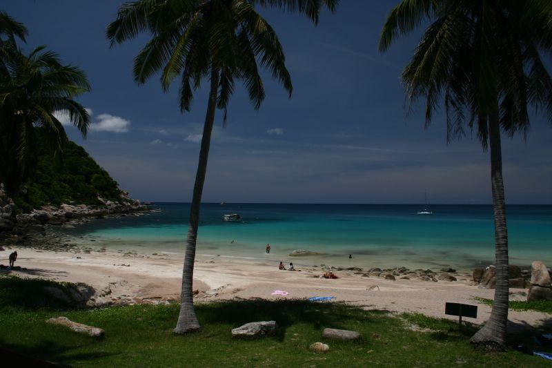 Plaža Ao Leuk - Mirna plaža na ostrvu Koh Tao