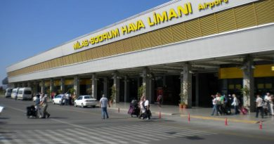 Turkey Bodrum Milas airport