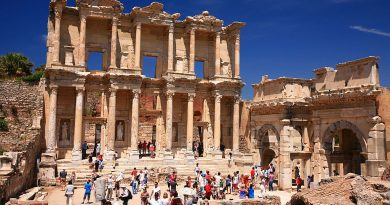 Turkey Ephesus Celsus library