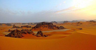 Algeria Tassili'n Ajjer national park