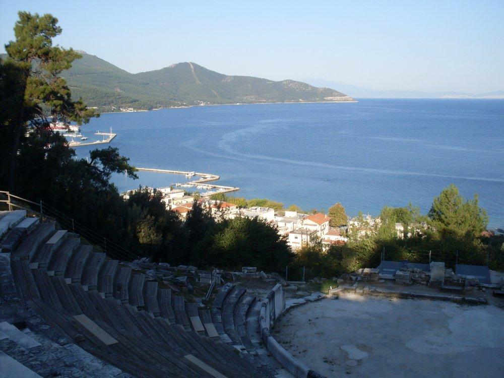 Pogled sa amfiteatra