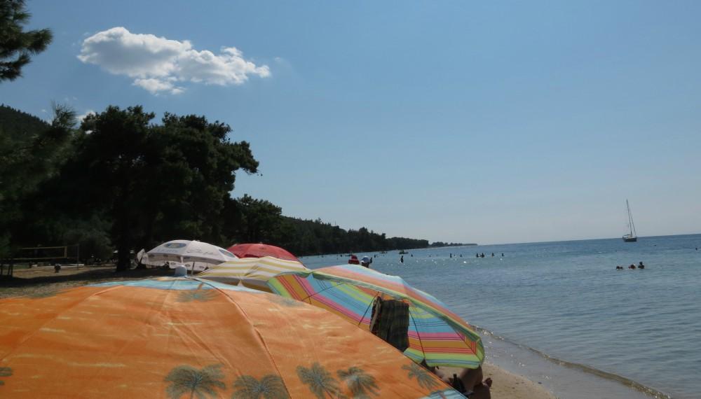 Greece Thassos Pachis beach