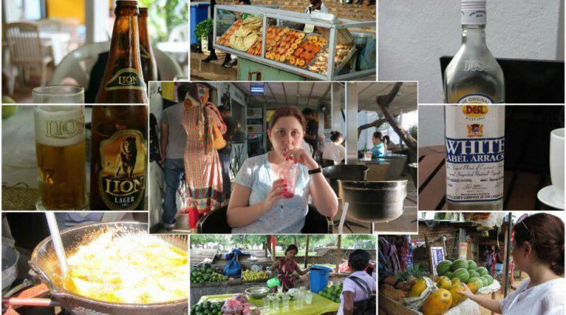 Sri Lanka travel guide information food and drinks