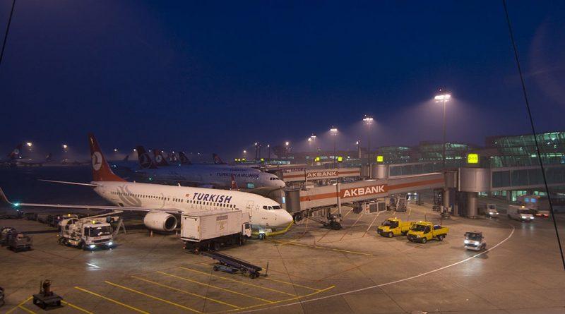 Turkey Ataturk international airport