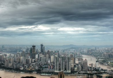 China skyline of chongqing