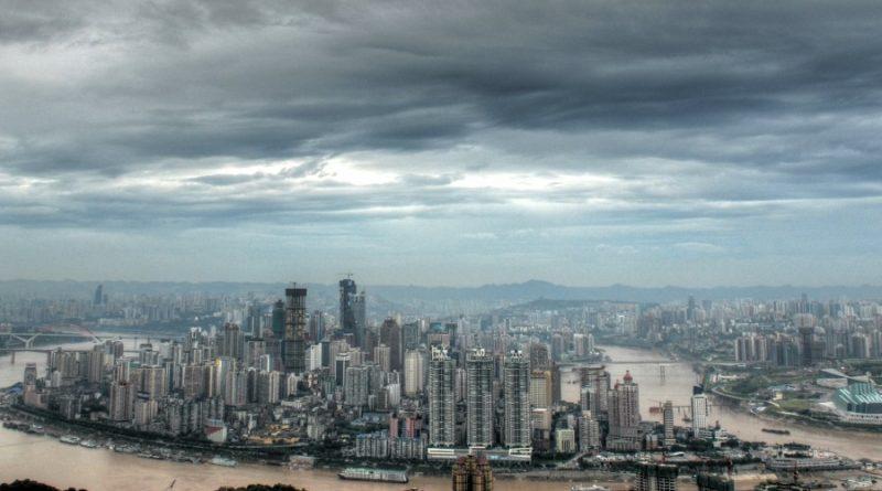 China skyline of chongqing