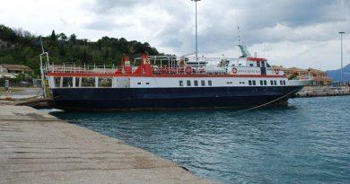 Greece Corfu ferry