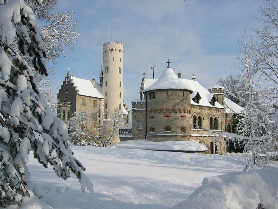 Zamak Lihtenštajn - Zimska idila