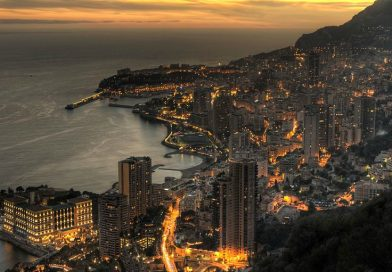 Monaco at dusk