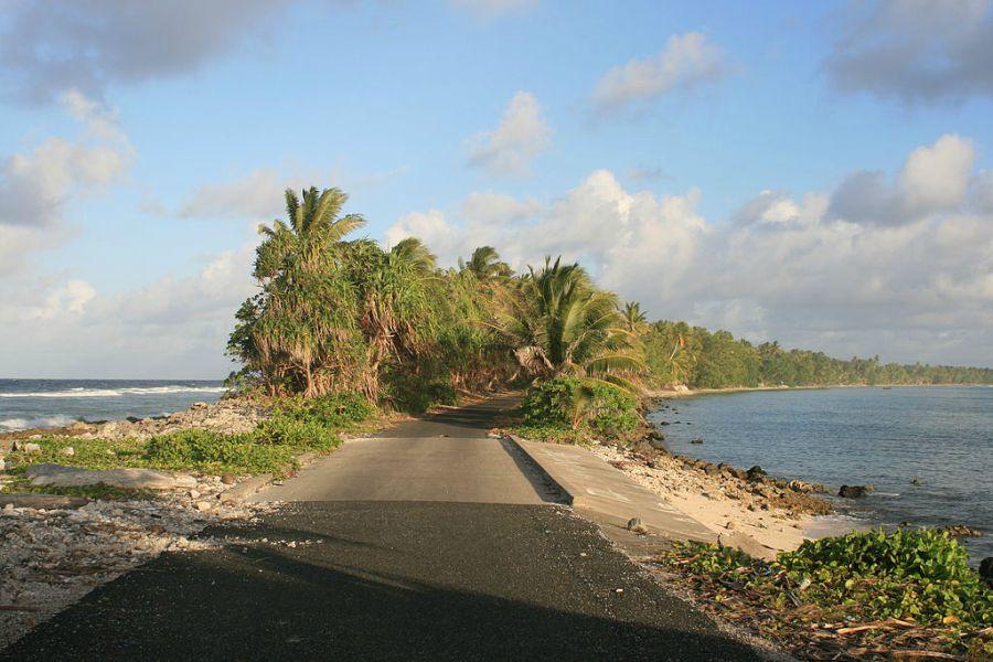 Funafuti - Putna mreža u glavnom gradu