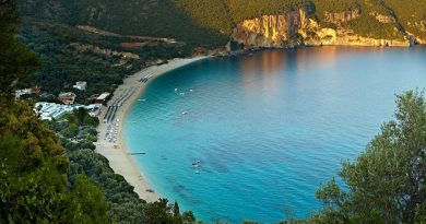 Greece Parga Lichnos beach