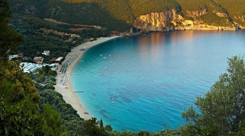 Greece Parga Lichnos beach