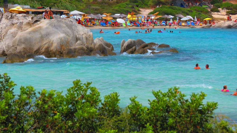 Sitonija najbolj plaže - Orange plaža
