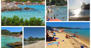 greece sithonia best beach