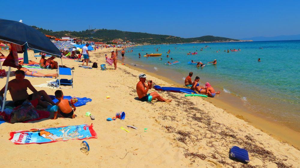 Sitonija - Gradska plaža Sarti
