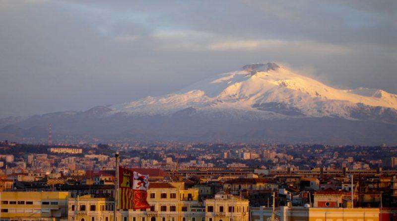 Italy Sicily Catania volcan Etna