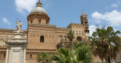 Sicily Italy cathedral of Palermo