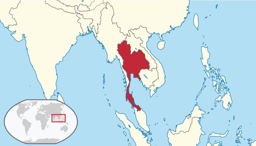 Karta Za Thailand.Tajland Mapa Svet Putovanja
