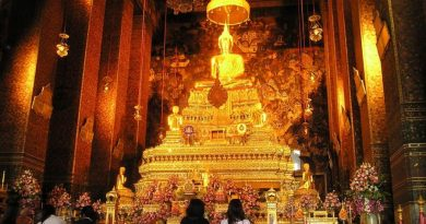 Tahailand Bangkok emerald Buddha in the grand palace