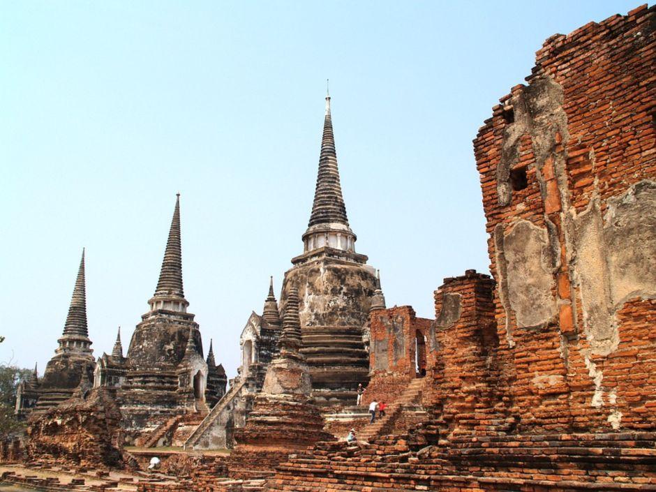 Tahailand Bangkok historic city of Ayutthaya