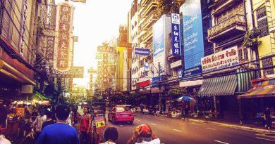 Thailand Bangkok downtown