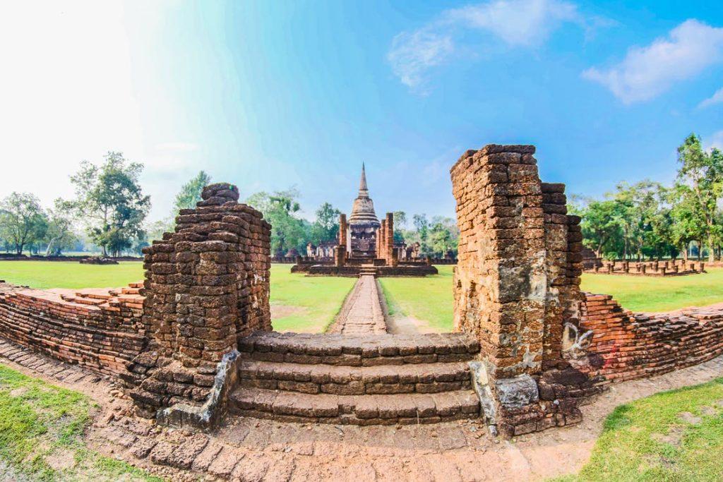 Thailand Historical park Si Satchanalai