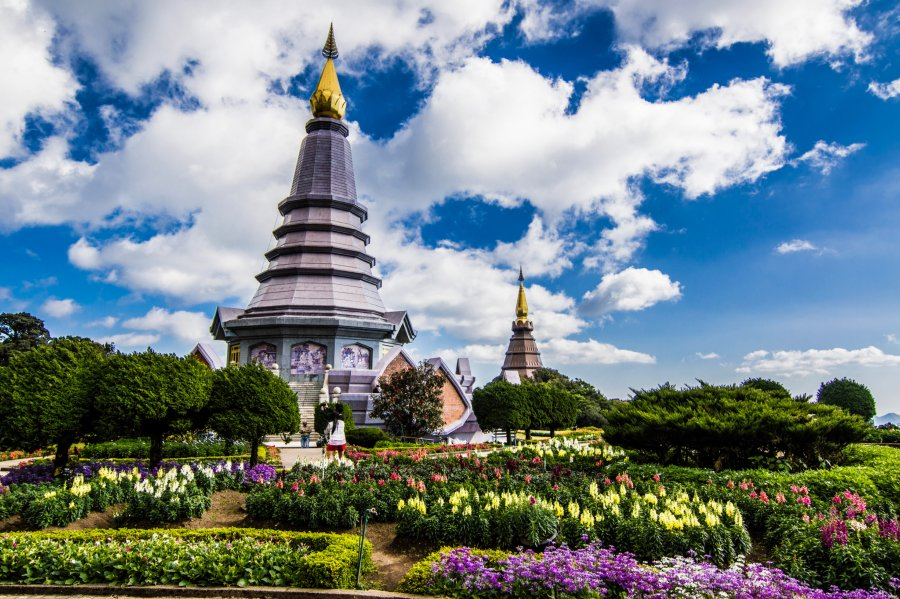 Thailand national park Doi Inthanon