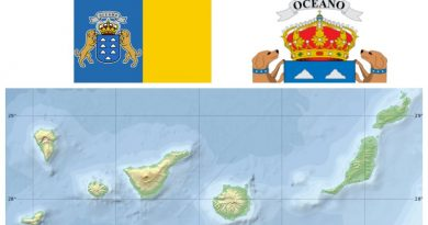 Spain Canary Islands map