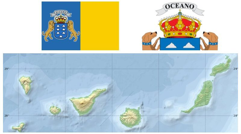 Spain Canary Islands map