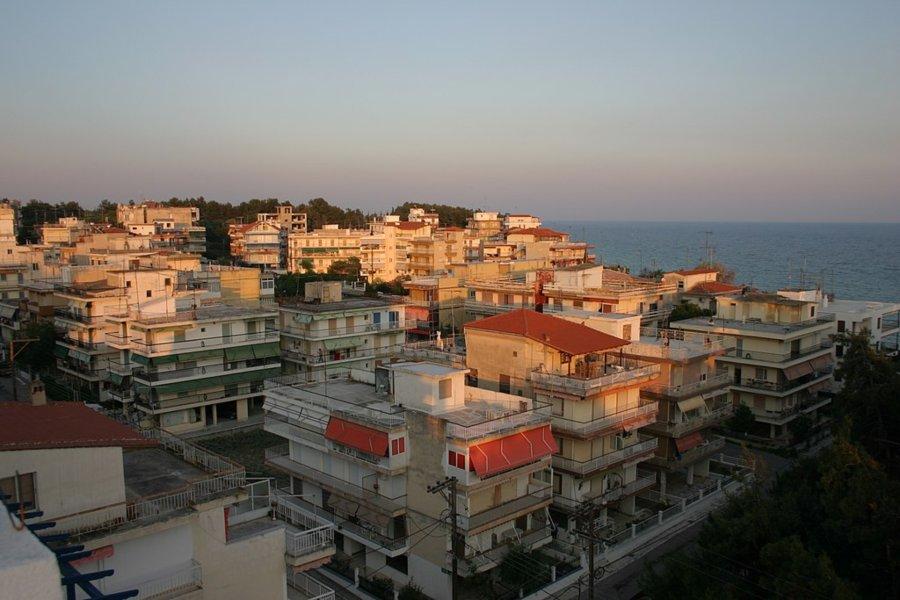 Nea Kalikratia - Panoramski pogled na apartmane