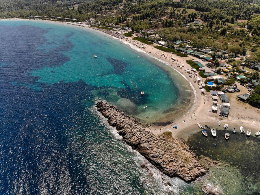 Paliouri plaža - Plaža i kamp
