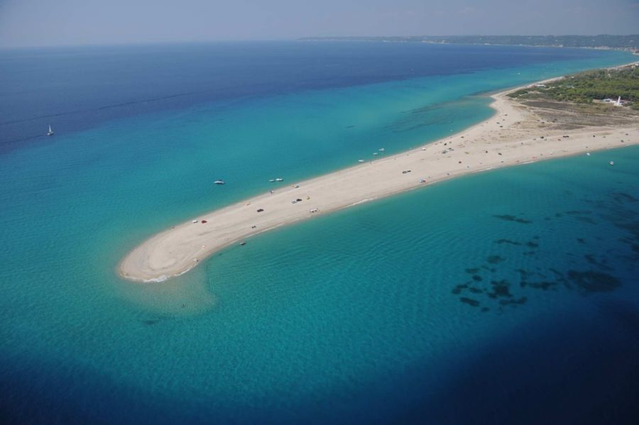 Plaža Possidi - Plaža i rt