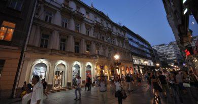 Serbia Belgrade Knez Mihailova street