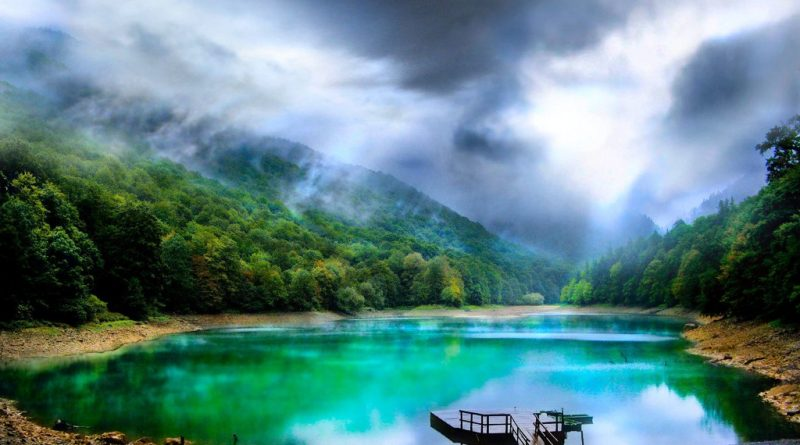 montenegro national park biogradska gora lake