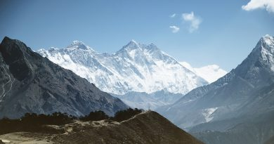 Mountain Mount Everest Himalaya Peak Summit