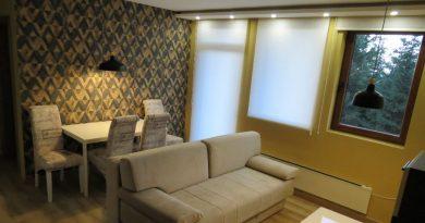 Apartman Žuta dunja - pogled na šumu