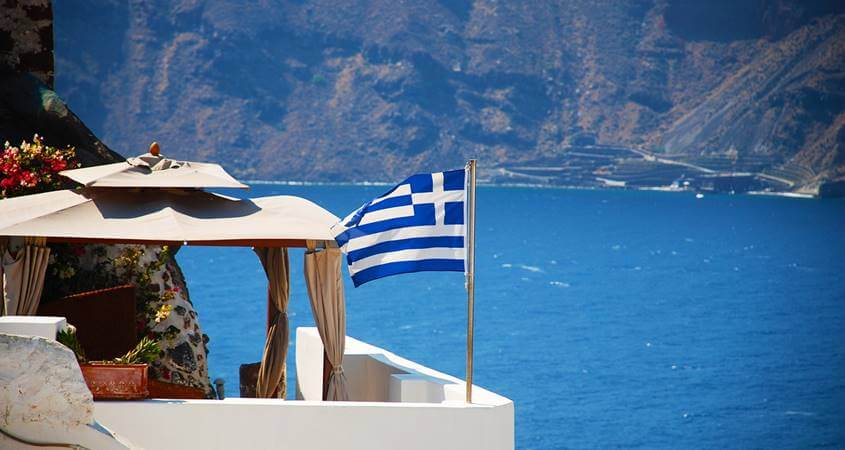 skriveni dragulji grckog primorja santorini grcka more