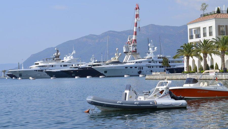 Crna Gora - Tivat marina