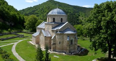 raska manastir gradac