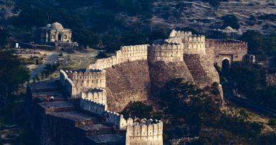 Kumbhalgarh fort architecture india rajasthan