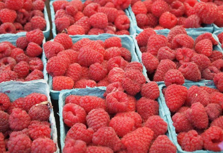 Maline srpske maline organsko voće
