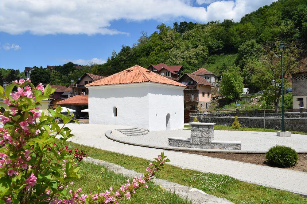 Jošanička Banja - tursko kupatilo, Hamam
