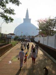 Sri Lanka Anuradhapura Vesak full moon-poya-day