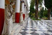 Greece Corfu Achillion palace