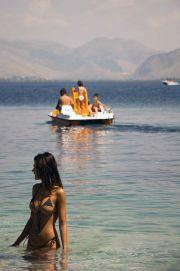 Greece Corfu Kerasia beach