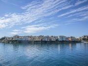 Greece Corfu port